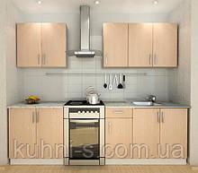 Кухни Киев - фасад дуб светлій