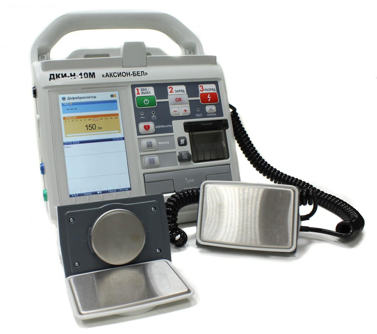 Дефибриллятор-монитор ДКИ-Н-10М
