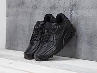 Кроссовки Nike Air Max 90 Black Leather, фото 1