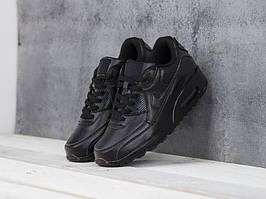 Кроссовки Nike Air Max 90 Black Leather