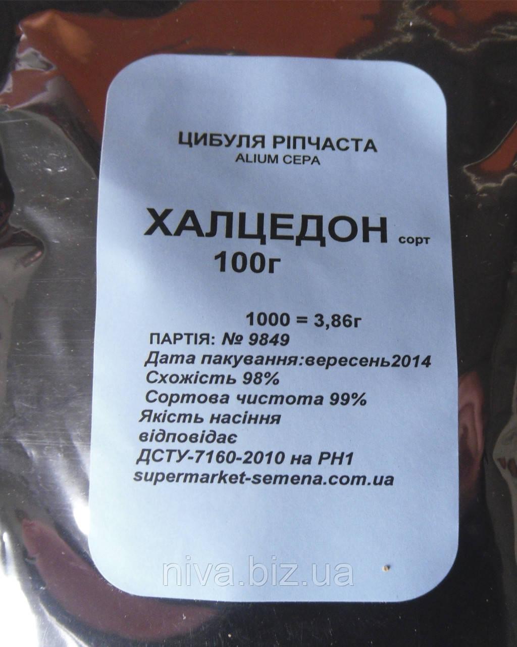 Халцедон насіння цибулі ріпчастої Semenaoptom 100 г