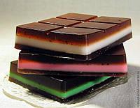 "Пластиковая форма ""шоколад"""