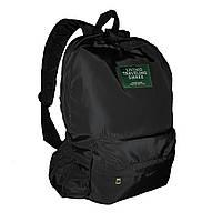 Городской рюкзак текстильный женский. Модные рюкзаки черный и зеленый, фото 1