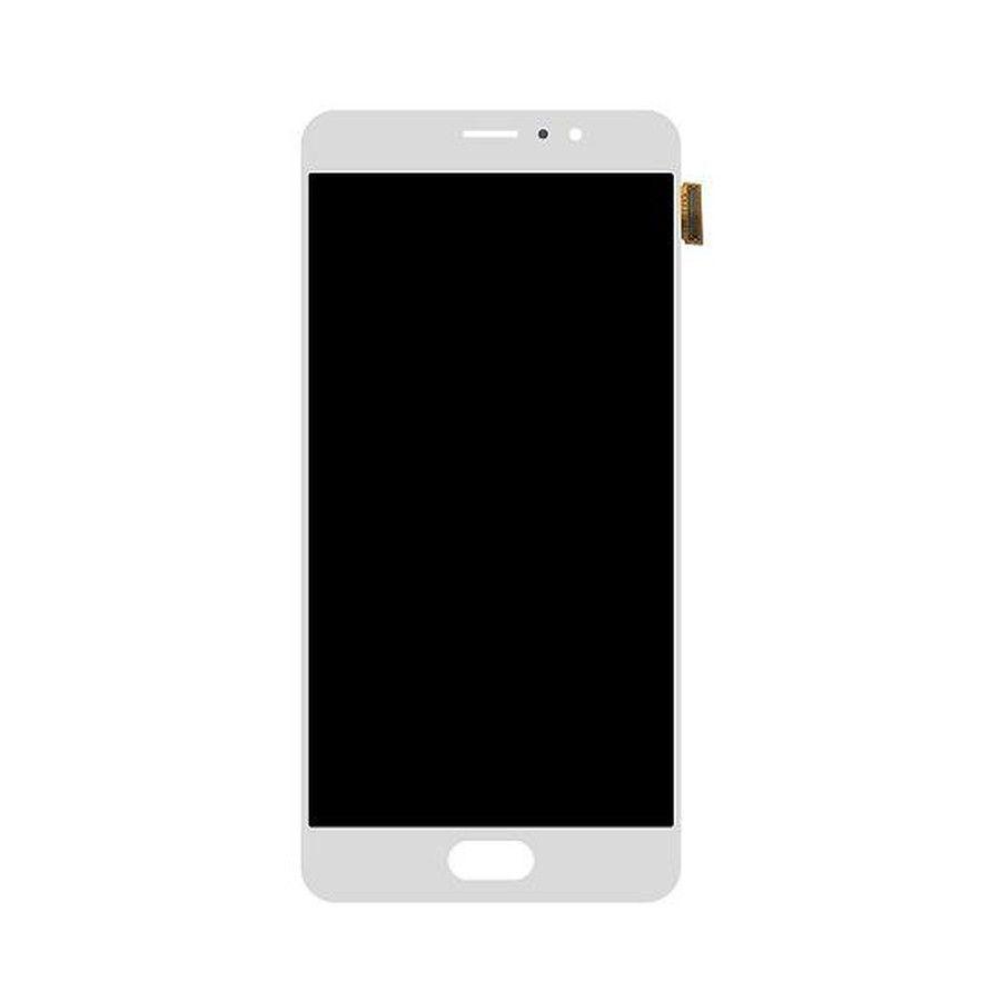 Дисплей модуль Meizu Pro 6 Plus в зборі з тачскріном, білий, Original