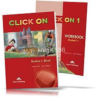 Click On 1, Student's Book+Workbook / Учебник+Тетрадь (комплект) английского языка