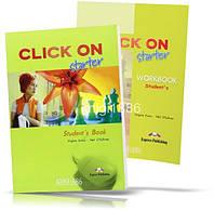 Click On Starter, Student's Book+Workbook / Учебник+Тетрадь английского языка