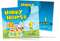 Happy Hearts 1, Pupil's+Activity Book / Учебник+Тетрадь английского языка