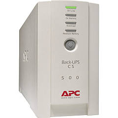 Бесперебойник APC Back-UPS CS 500VA БУ без аккумулятора