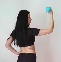 Черно-белый женский спортивный топ 42-48 р, фото 3