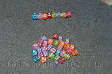 "Бусинки кубики расширенная латиница. алфавит.  ""å"""