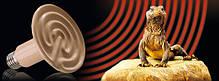 Инфракрасная керамическая лампа излучатель для обогрева животных 100W, фото 2