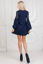 Платье короткое с длинным рукавом, фото 3