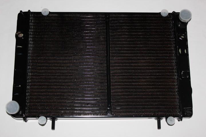 Радиатор вод. охлажд. ГАЗ 3302 (3-х рядн.) (под рамку) медн.(TEMPEST), 330242-1301010-01С