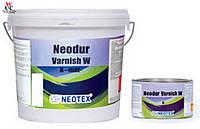 Матовый двухкомпонентный полиуретановый лак на водной основе NEODUR VARNISH MAT
