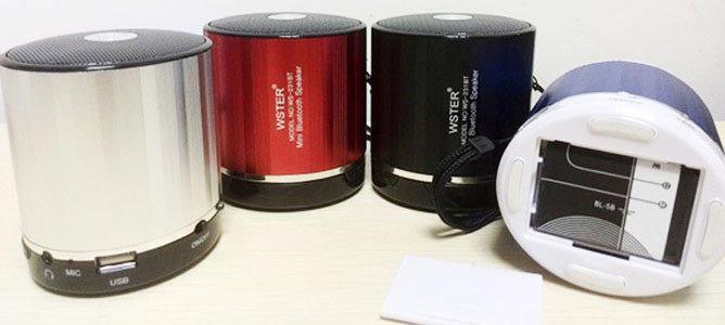 Портативная колонка WSTER WS-231BT MP3, FM, USB, Bluetooth Оригинал