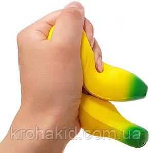 Сквиш Банан / Фрукты / Squishy / Сквуши/ Игрушка-антистересс, фото 2