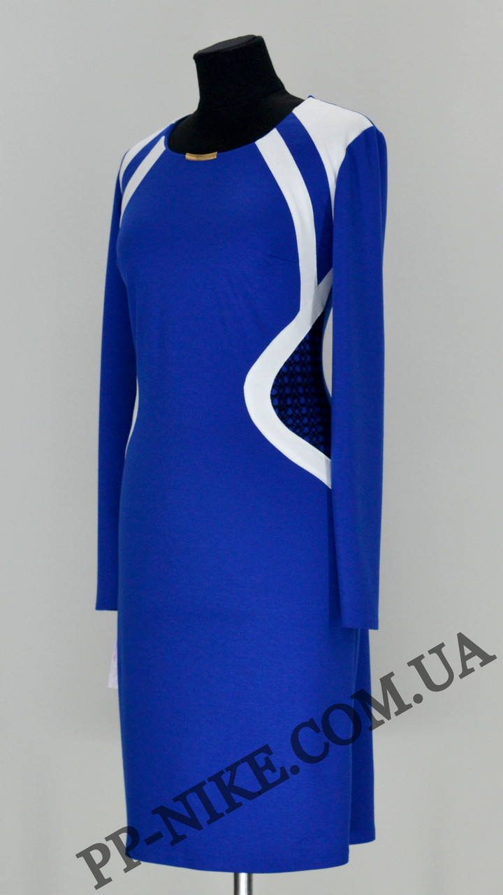 Трикотажное платье № 431