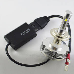 Комплект светодиодных ламп в основные фонари под цоколь Н7 20W 2400 Люмен/Комплект, фото 2