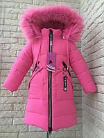 Пальто зимнее на девочку 3-4 года