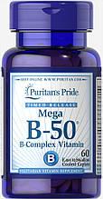 Puritan's Pride Vitamin B-50® Complex Timed Release  60 caplets
