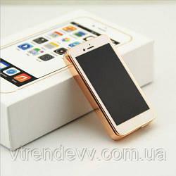 Зажигалка электроимпульсовая,спиральная в стиле iPhone Apple