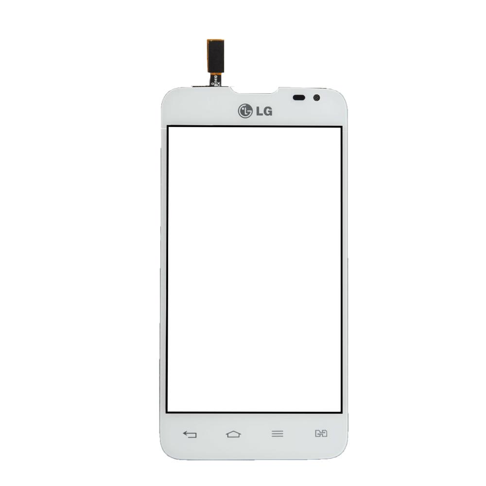 Тачскрин для LG D285 Optimus L65 Dual Sim, белый Оригинал (тестирован)