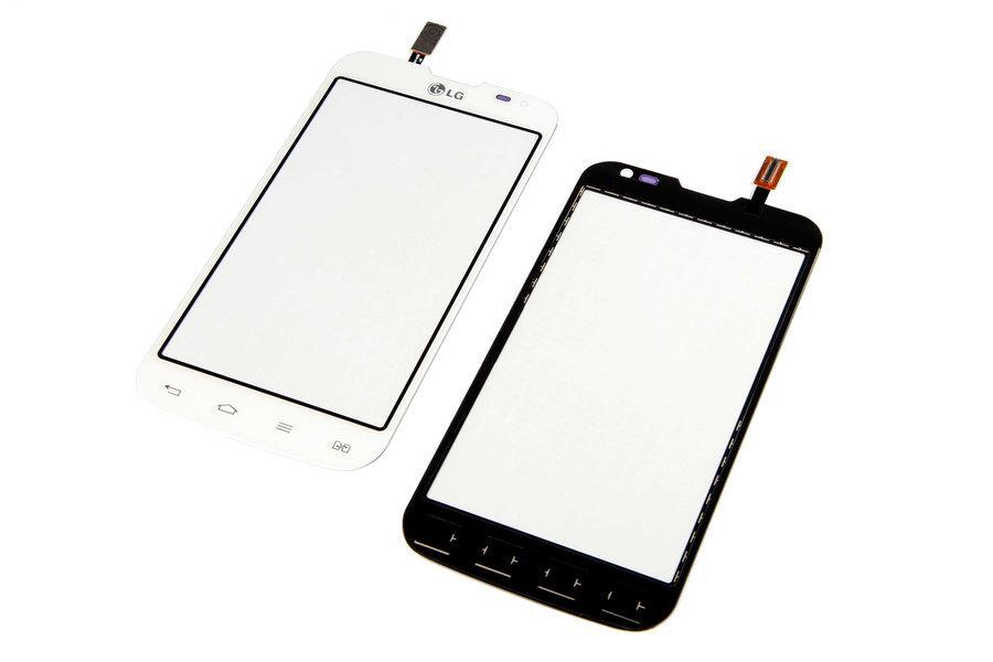 Тачскрин для LG D410 Optimus L90 Dual Sim, белый Оригинал (тестирован)