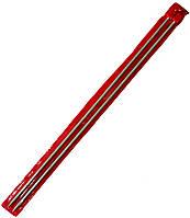 Спицы вязальные №4,5 (350mm) металлические, покрытие TEFLON