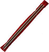 Спицы вязальные №6 (350mm) металлические, покрытие TEFLON
