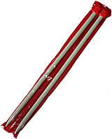 Спицы вязальные №10 (350mm) металлические, покрытие TEFLON