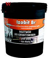 Битумно-каучуковая мастика IZOBIT BR фасовка 18 кг.