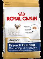 Сухой корм (Роял Канин) Royal Canin French Bulldog Junior 1 кг для щенков французский бульдог до 12 месяц