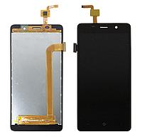 Дисплей (экран) для Bravis A504 Trace Dual Sim с сенсором (тачскрином) черный