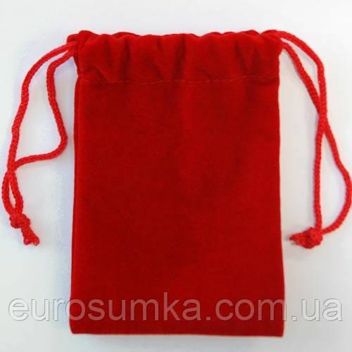Мешочки из бархата для украшений от 100 шт.