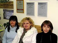 """Основатель салона""""Green star"""" -Ирина Музок ( в центре),мастера Елена и Наташа"""