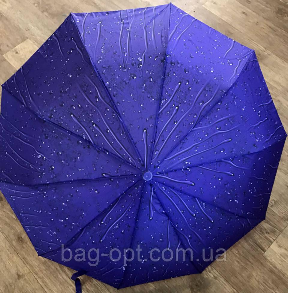 Женский зонт полуавтомат в подарочной упаковке (12 цветов)