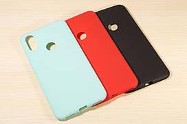 Силиконовый матовый чехол для Xiaomi Mi 6X / Mi A2 (3 Цвета)