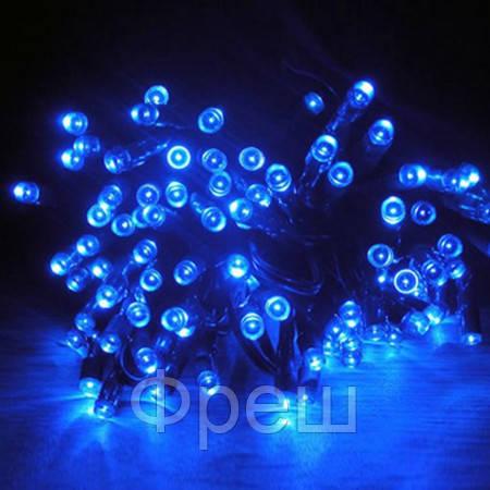 Новогодняя гирлянда Xmas 100 B-3 синяя!Скидка