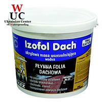 Полимерная гидроизоляционная мембрана IZOFOL DACH , 7 кг