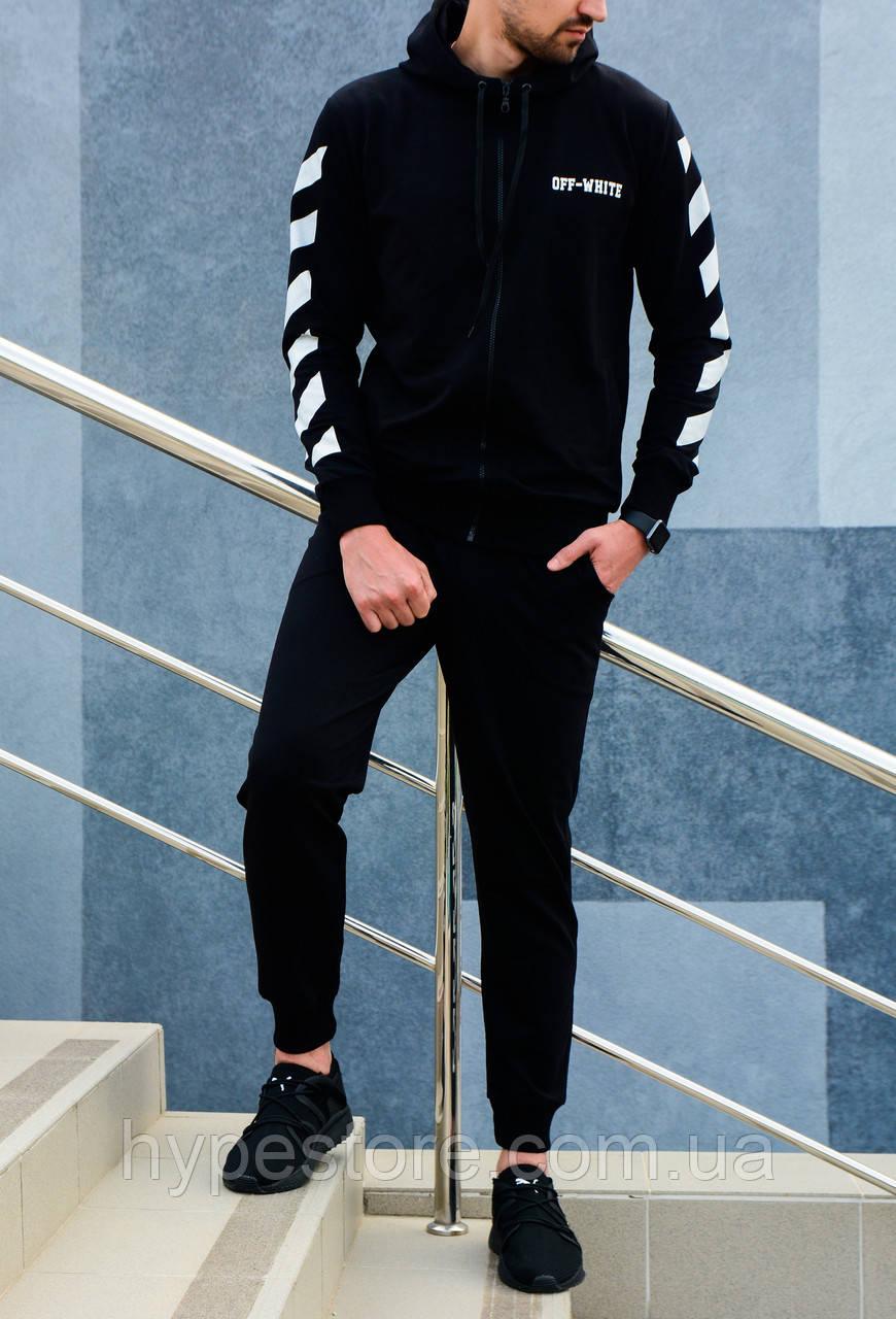 Мужской спортивный костюм с капюшоном, чоловічий спортивний костюм  OFF-WHITE, Реплика - Интернет 4f43773c747