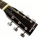 Гитара акустическая Trembita Leotone L-01 BK (струна, копилка, медиатор), фото 5
