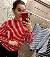 Женский модный свитер в полоску (3 цвета), фото 1