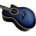 Гитара акустическая Trembita Leotone L-01 BL (струна, копилка, медиатор), фото 3