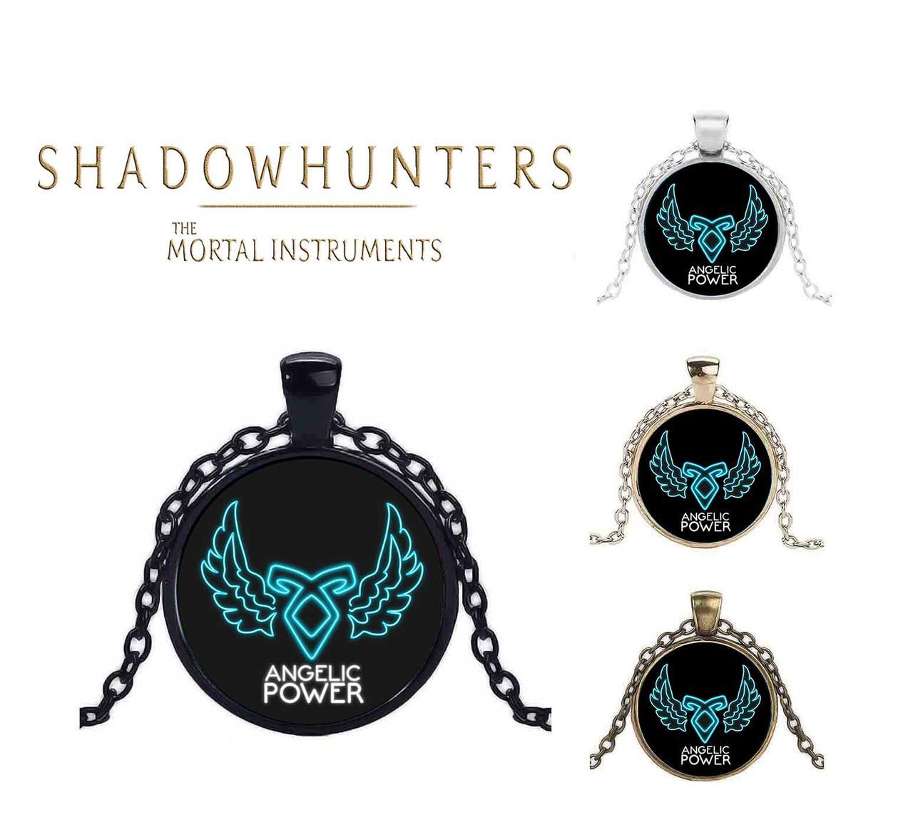 Кулон Сумеречные охотники Ангельская сила Shadowhunters