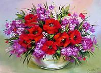 """Вафельная картинка """"Цветы 1"""""""