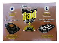 Система от тараканов ловушка с приманкой и регулятором Raid Max, фото 1