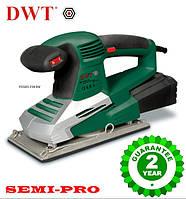 Виброшлифовальная машина DWT  ESS03-230 DV, 320 Вт профессиональный