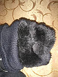 Подростковые Флис хлопок с мех Теплый Перчатки только оптом, фото 4