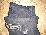 Подростковые Флис хлопок с мех Теплый Перчатки только оптом, фото 3