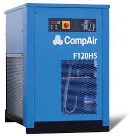 Рефрижераторний осушувач CompAir F120НS (12,00 м3/хв)